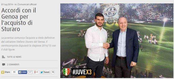 Sturaro alla Juventus, ora è ufficiale: la prima intervista [Video]