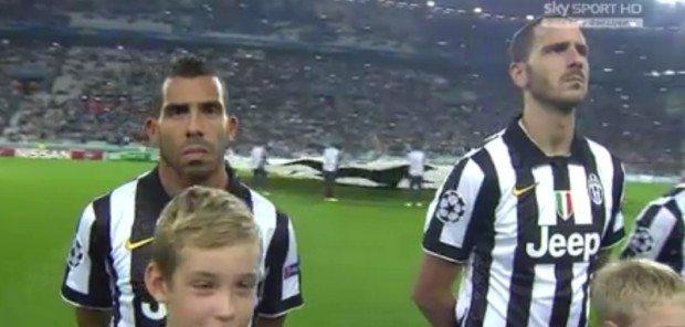 Juventus-Malmoe pagelle: Tevez è di un altro pianeta