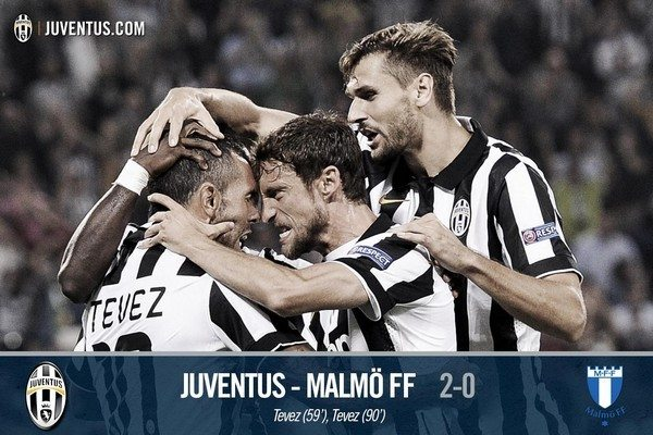 juventus-malmoe-video