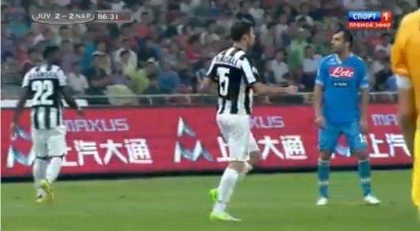"""Supercoppa Juve-Napoli: Pandev disse al guardalinee """"gobbo di m…"""""""