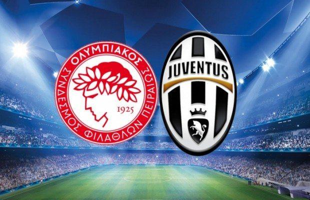 Olympiakos-Juventus-diretta