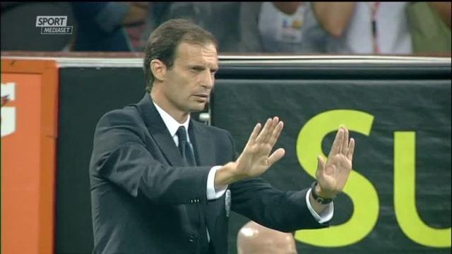 Allegri in Empoli-Juventus