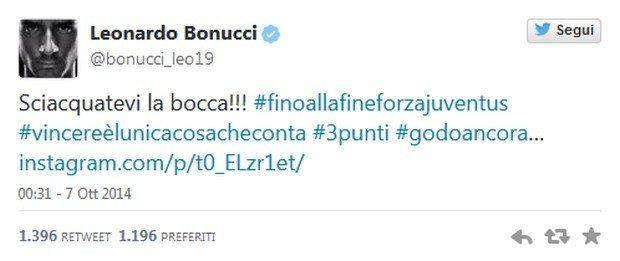 """Bonucci: """"Sciacquatevi la bocca"""", Oriali: """"Non deve succedere mai più"""""""