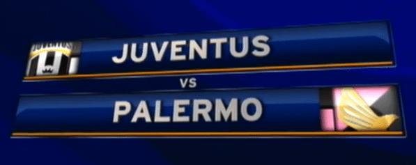 Juventus-Palermo: diretta TV e streaming live e formazioni ufficiali