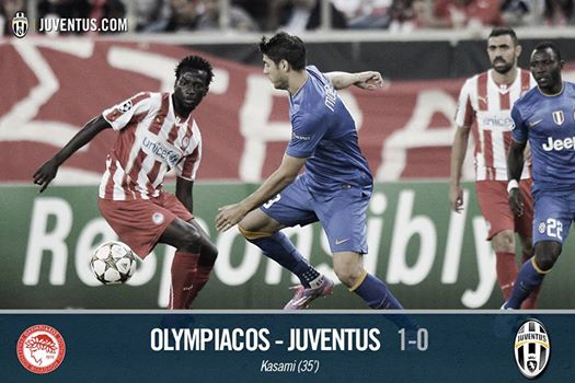 olympiacos-Juventus-video