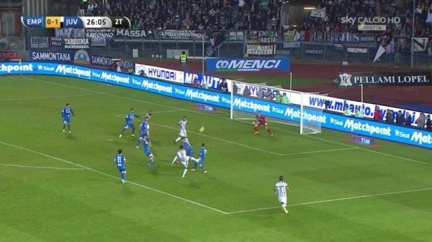 empoli-juventus-video