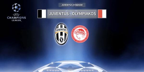 Juventus-Olympiakos, diretta: le formazioni ufficiali | Live ore 20.45