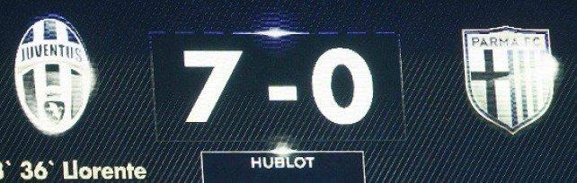 Juventus Parma 7-0: ammazza che ripassata