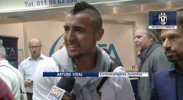 "Juventus, Vidal: ""Superiori alla Roma come squadra"""