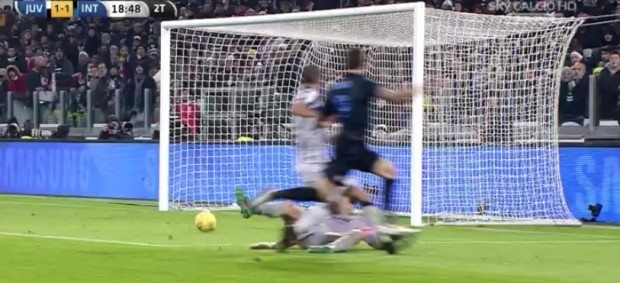 Juventus-Inter 1-1: video gol, highlights e tabellino