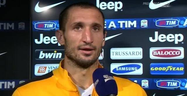 """Chiellini: """"A Madrid spero finisca come nel 2008"""""""