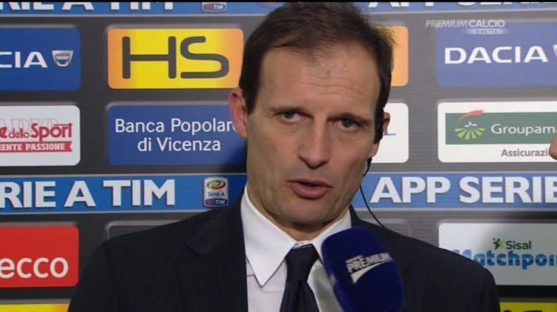 Allegri, allenatore Juventus