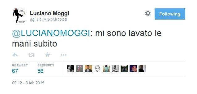 """Moggi: """"La mano a Moratti? Mi sono lavato subito"""""""