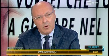 Giuseppe Marotta a Rai Sport