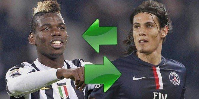 Juventus calciomercato: Pogba e Cavani, le ultime da Parigi