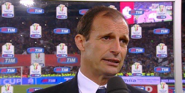 Juventus-Lazio 2-0: le interviste ad Allegri e Dybala