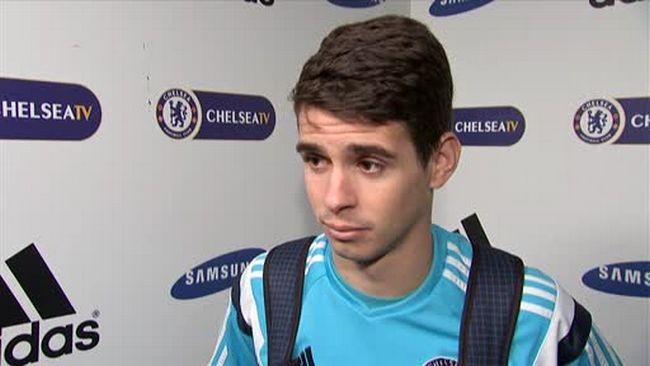 Oscar, centrocampista del Chelsea