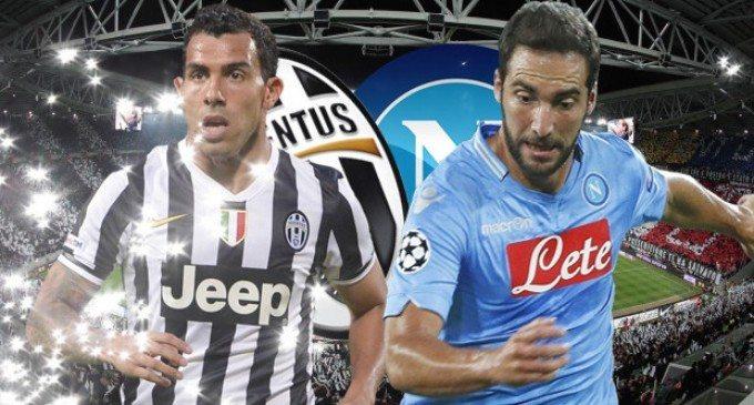 Juventus Napoli diretta