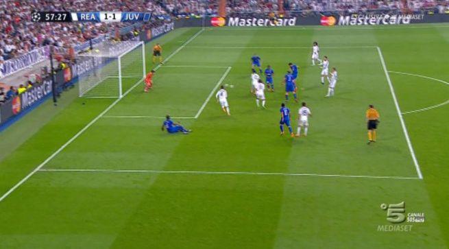 Real Madrid Juventus video gol