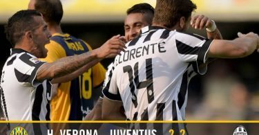 Verona-Juventus 2-2