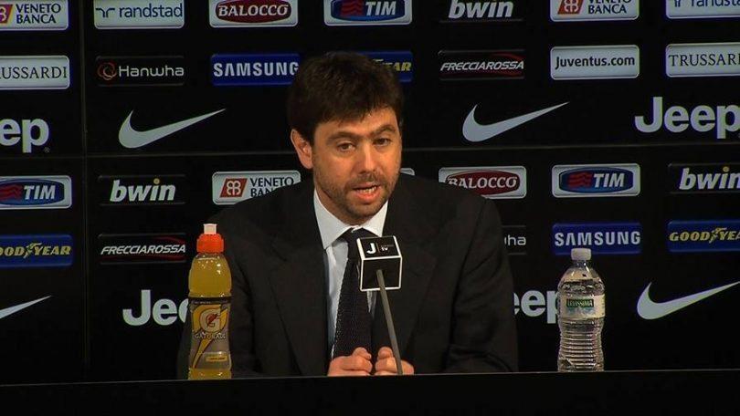 Andrea Agnelli, conferenza stampa