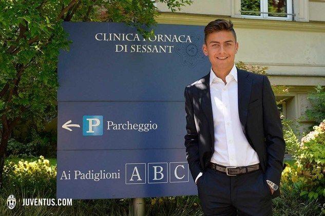 Dybala alla Juventus ufficiale