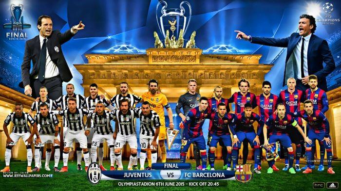 Juventus-Barcellona: finale Champions League