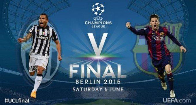 Juventus-Barcellona, finale Champions 2015