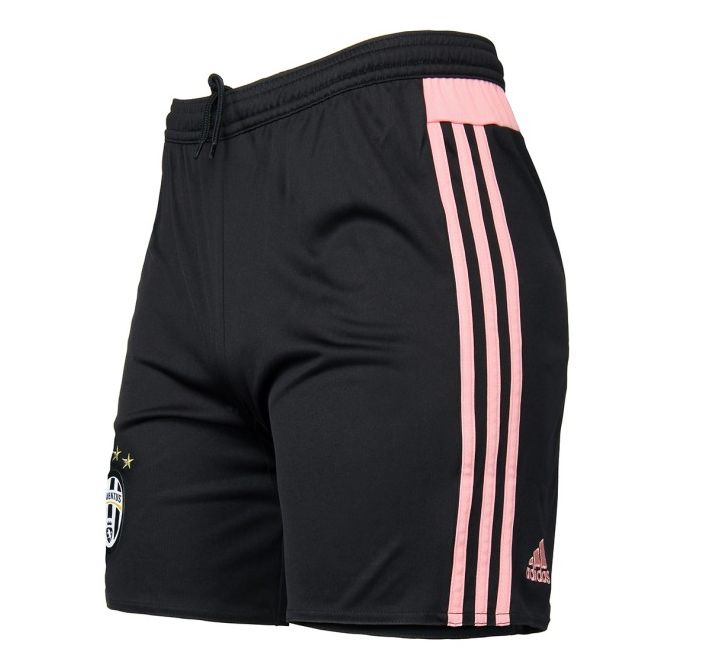 pantaloncini maglia away juventus rosa 2015-2016