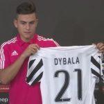 Paulo Dybala, presentazione ufficiale