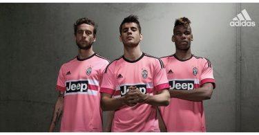 maglia rosa juventus 2015-2016 promo