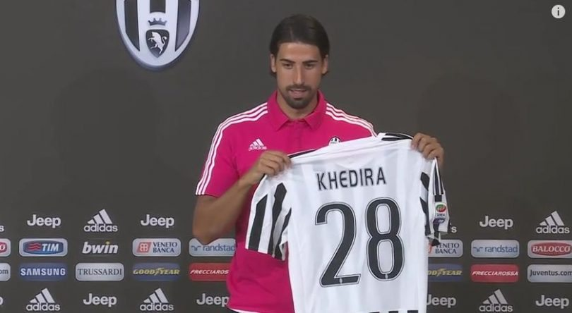Terza Maglia Juventus SAMI KHEDIRA