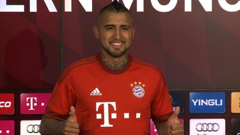 Vidal al Bayern