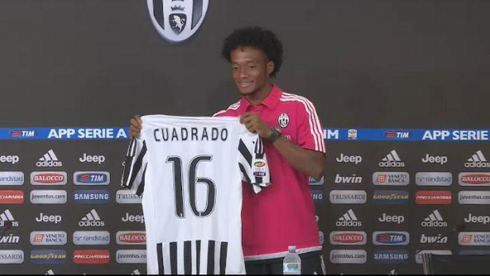 Juan Cuadrado alla Juventus