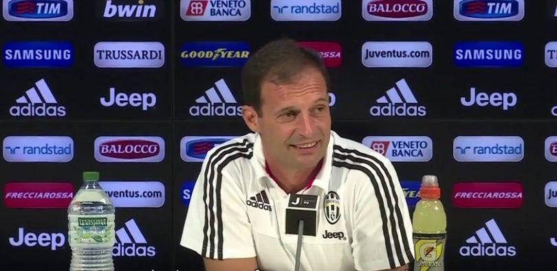 Allegri pre Juventus-Udinese