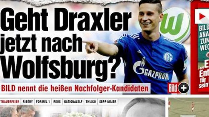 Draxler al Wolfsburg