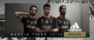Terza maglia Juventus 2015-2016