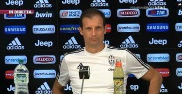 Allegri pre Genoa-Juve