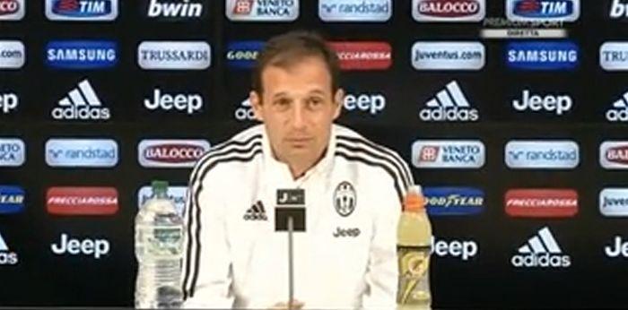 Allegri pre Juventus-Chievo