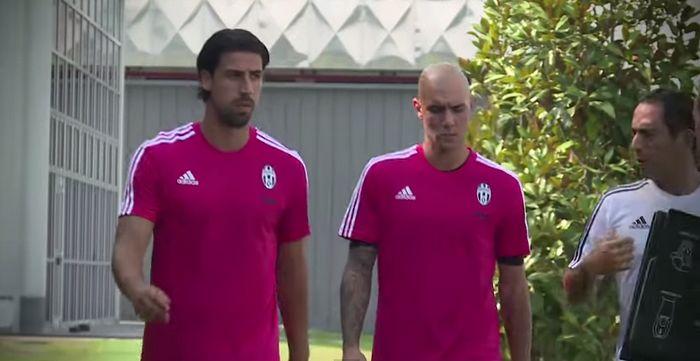 Juventus - Vinovo - allenamento