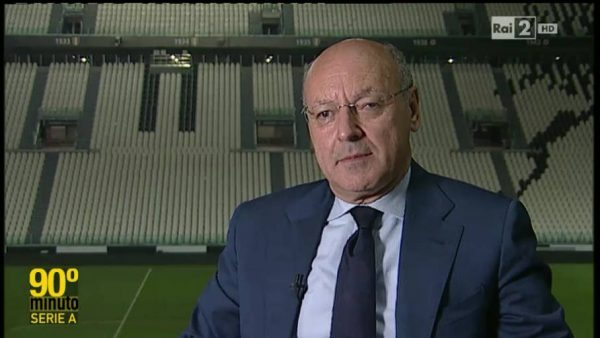 Marotta post Manchester City-Juve
