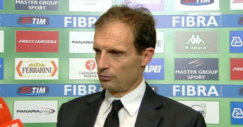 Allegri Sassuolo-Juventus