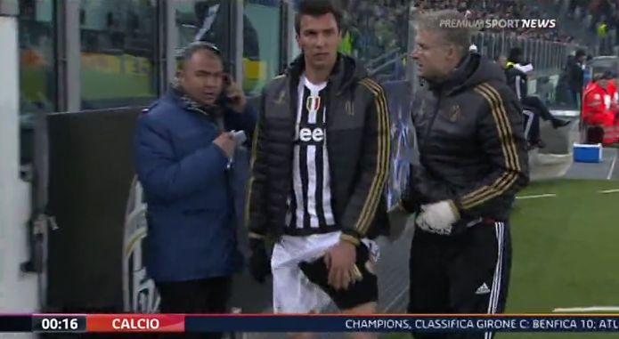 Infortunati Juventus - Mandzukic