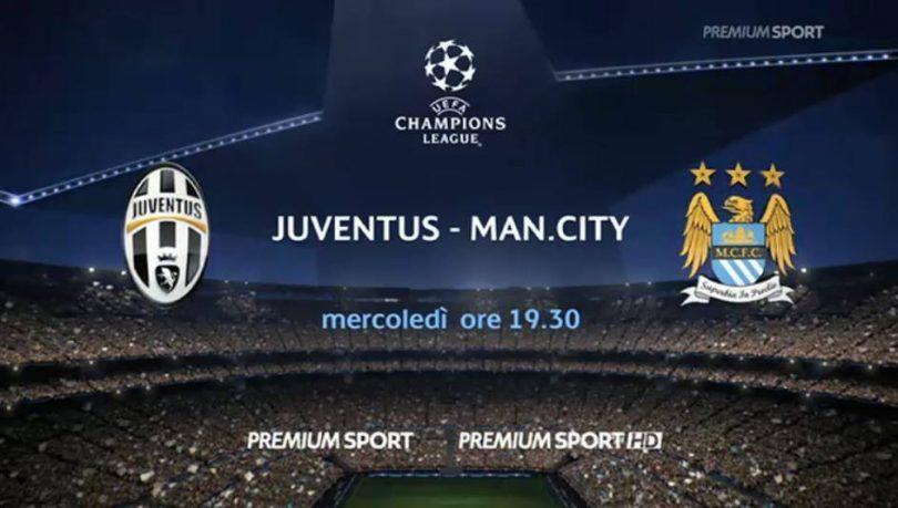 Juventus-Manchester City-diretta