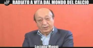 Luciano Moggi a Le Iene