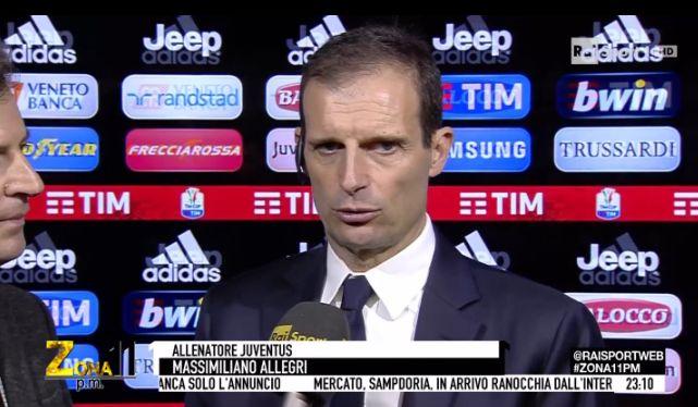 Allegri Juventus Inter Coppa Italia