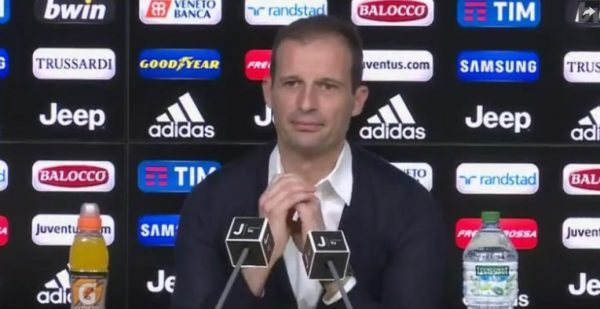 Allegri pre Udinese Juventus