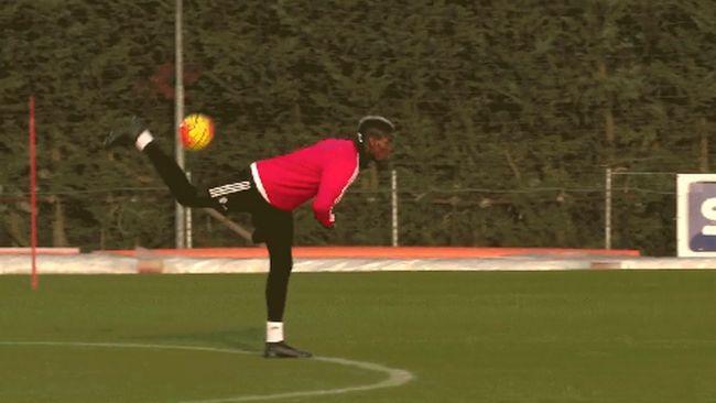 allenamento Juventus Pogba capodanno