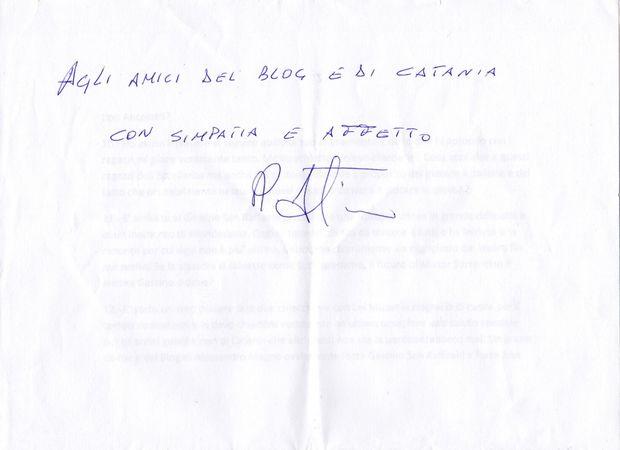 Roberto Sorrentino dedica