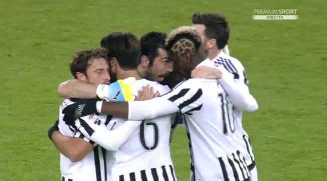 Juventus Roma 1-0